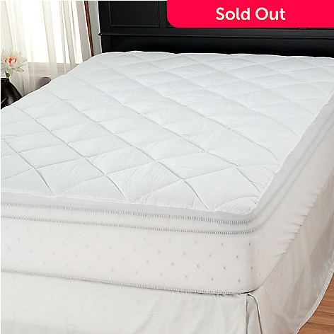 437-783 - Cozelle® 180TC Cotton Stain & Water Resistant Mattress Pad