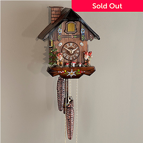 437-797 - Hubert Herr Dwarves One-Day Hand-Crafted Cuckoo Clock