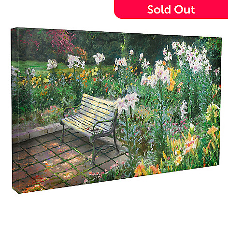 437-807 - Thomas Kinkade ''Eternal Springtime'' 16'' x 31'' Gallery Wrap