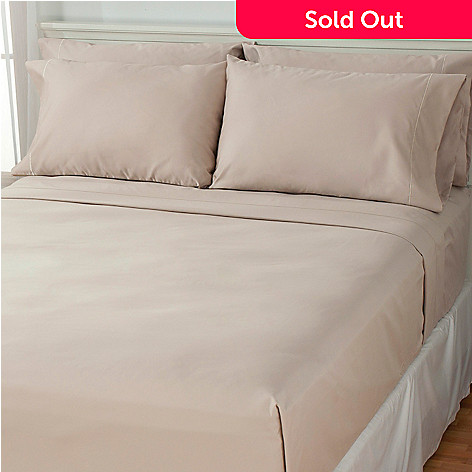 437-964 - 1000TC Cotton/Poly Blend Easy Care Six-Piece Sheet Set