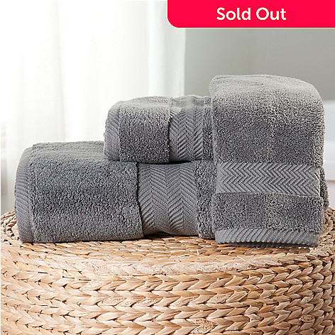 437-982 - Cozelle® Cotton Three-Piece Towel Set