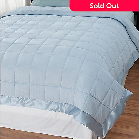 438-069 - Cozelle® Microfiber Embossed Down Alternative Blanket