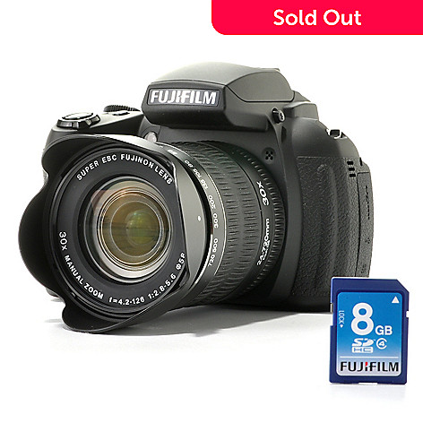 438-135 - Fujifilm HS-35 16MP 30x Optical Zoom 1080p HD Camera w/ 8GB Card & Software