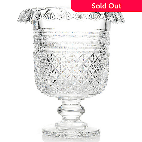 438-173 - House of Waterford Museum Collection Part II Crystal Turnover Ice Pail - Limited Edition
