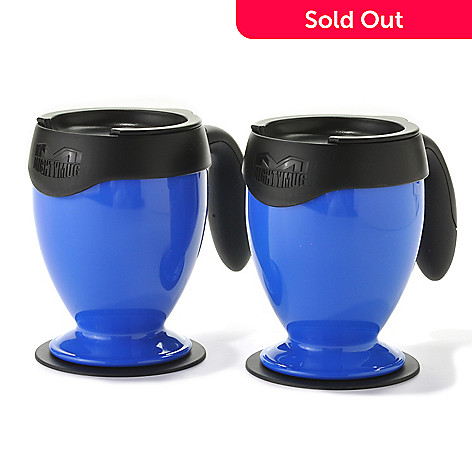 438-194 - Mighty Mug™ Set of Two 16 oz SmartGrip™ Desk Mugs