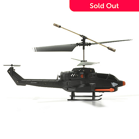 438-263 - HELO TC Assault Missile-Launching Mini Helicopter w/ Android® or Apple® Smartphone Control