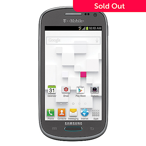 438-309 - Samsung Galaxy Exhibit Smartphone w/ 5MP Camera, GPS & T-Mobile's No Annual Contract Service