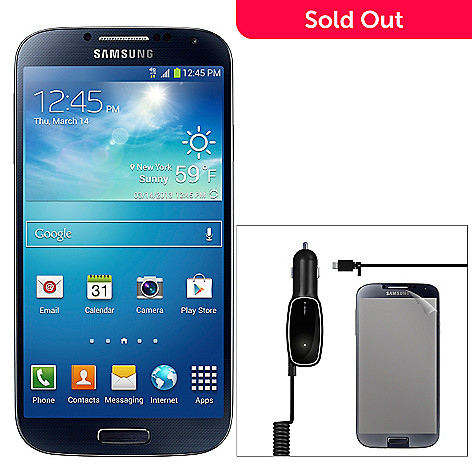438-312 - Samsung Galaxy S4 16GB Smartphone w/ 13MP Camera for T-Mobile's No Annual Contract Service