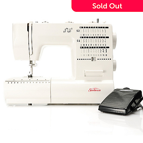 438-388 - Sunbeam™ 70W Domestic 70-Stitch Sewing Machine