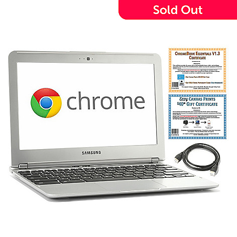 438-462 - Samsung 11.6'' Dual-Core 1.7GHz 2GB RAM/16GB HSSD Hard Drive Google Chromebook w/ Accessories