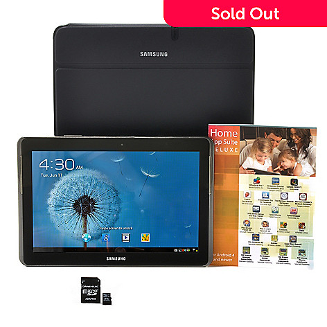 438-499 - Samsung Galaxy Tab™ 2 10.1'' Google Certified 16GB Wi-Fi Tablet w/ Accessories