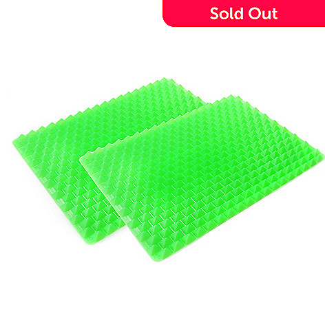 438-516 - Healthy Chef Set of Two Non-Stick Raised Silicone Bake & Crisp Mats