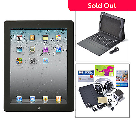 438-607 - Apple® iPad® 9.7'' 4th Gen Wi-Fi or Wi-Fi+4G Tablet w/ Bluetooth® Accessories Kit