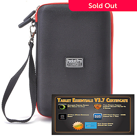 438-662 - PocketPro™ 7'' Hardshell Tablet Case & Tablet Essentials v3.7 Software