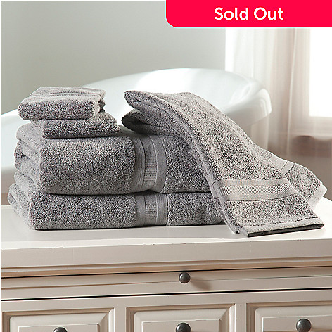 438-677 - Cozelle® Ultra-Absorbent 100% Cotton Six-Piece Towel Set