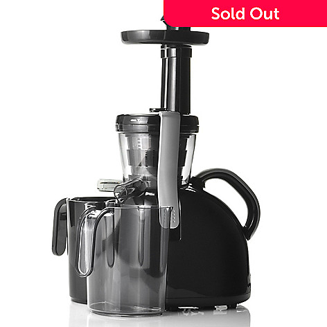 438-778 - Big Boss™ 150W EZ Clean Healthy Press Slow Juicer w/ Recipe Book