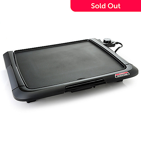 438-791 - Presto® 1500W Cool Touch Electric Tilt'n'Drain™ Griddle