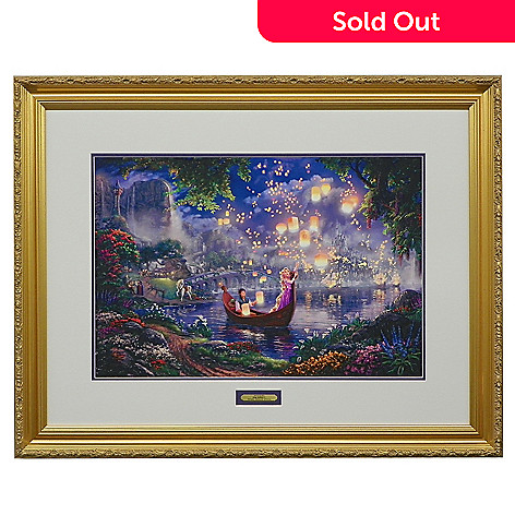 438-922 - Thomas Kinkade ''Tangled'' Limited Edition Framed Print