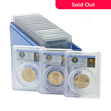 438-978 - 2007-2011 Presidential Golden Dollar PR69DCAM PCGS (S) Set of 20 Coins