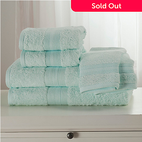 439-050 - Cozelle® Cotton & Rayon from Bamboo Six-Piece Towel Set