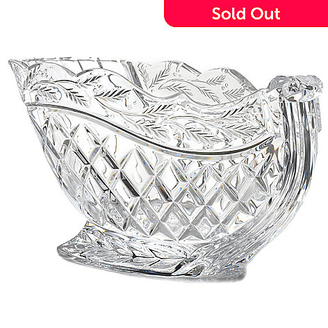 439-052 - Marquis by Waterford 9.75'' Crystal Holiday Sleigh