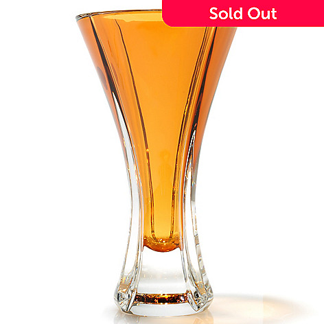 439-056 - Waterford Crystal Amber 9.75'' Vase