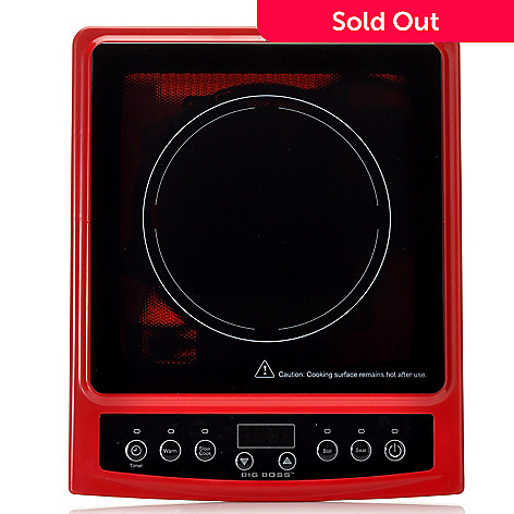 439-108 - Big Boss™ 1300W Programmable & Portable All-in-One Induction Cooktop
