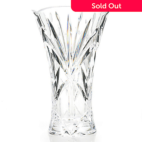 439-123 - Marquis by Waterford Southvale 9.5'' Crystal Flared Vase
