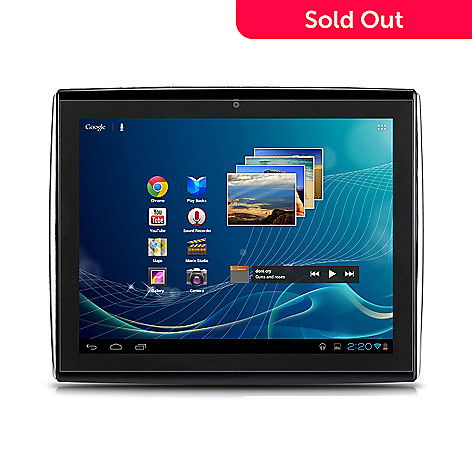 439-177 - LePan II 9.7'' Google Certified 8GB Dual-Core Android™ 4.0 Bluetooth® Tablet