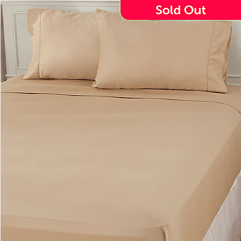 439-180 - Cozelle® 400TC Cotton Hemstitched Four-Piece Sheet Set