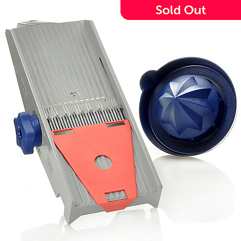 439-215 - TNS 2000® All-in-One Nine-Setting Mandoline Slicer & Citrus Squeezer