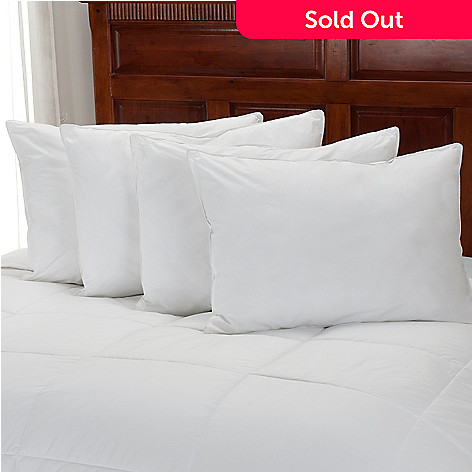 439-244 - Cozelle® Set of Four 233TC Cotton Down Alternative Pillows