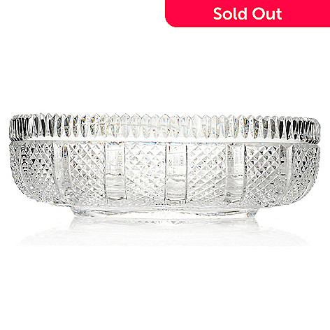 439-249 - House of Waterford® Museum Collection Limited Edition 13.75'' Crystal Oval Bowl