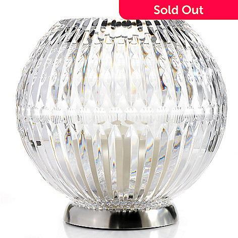 439-264 - Waterford® Illuminology Candela Rose Three-Piece Crystal Bowl Hurricane Set