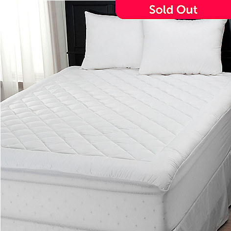 439-285 - Cozelle® Coolmax® 400TC Mattress Pad & Set of Two Pillows