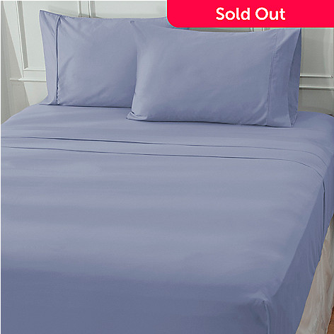 439-431 - North Shore Living™ 600TC 100% Egyptian Cotton Sateen Four-Piece Sheet Set