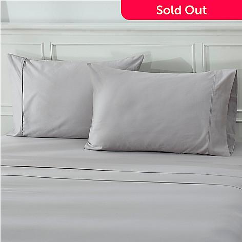 439-432 - North Shore Living™ 600TC 100% Egyptian Cotton Sateen Pillowcase Pair