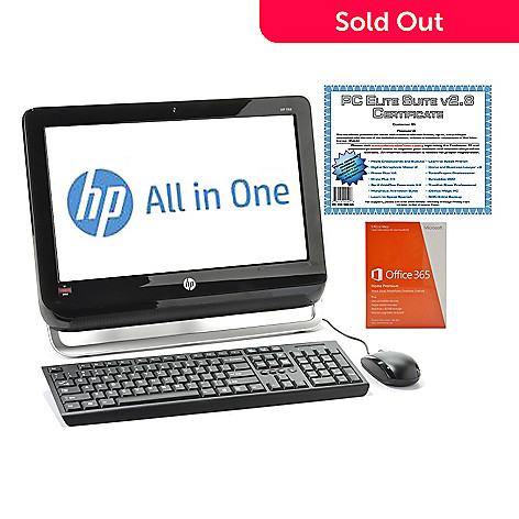 439-434 - HP 18.5'' LCD AMD Dual-Core 4GB RAM/500GB HD All-in-One Desktop w/ Software