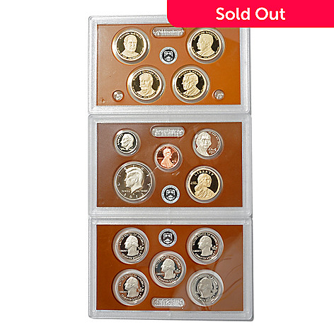 439-454 - 2013 US 14-Piece Proof (S) Coin Set