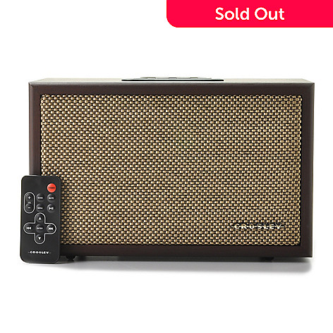 439-608 - Crosley iDECO 30W Audiophile Compact Speaker w/ Dock for Apple iPod & iPhone®