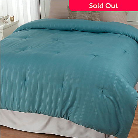 439-657 - Cozelle® Microfiber Striped Down Alternative Comforter