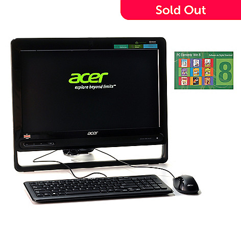 439-687 - Acer Aspire 19.5'' HD LED Dual-Core 6GB RAM/500GB HD All-in-One Desktop w/ Software Suite