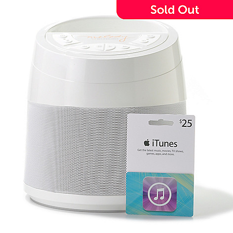 439-691 - Melody by Soundcast Portable Wireless Bluetooth® Speaker & iTunes Gift Card