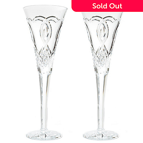 439-732 - Waterford Crystal Set of Two 7 oz Wedding Flutes