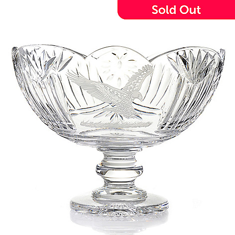 439-738 - House of Waterford® Symbols of Achievement Eagle 10.75'' Crystal Bowl