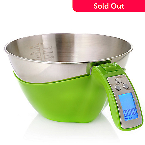 439-804 - Kalorik 1.5 qt Electric Kitchen Scale w/ Detachable Bowl