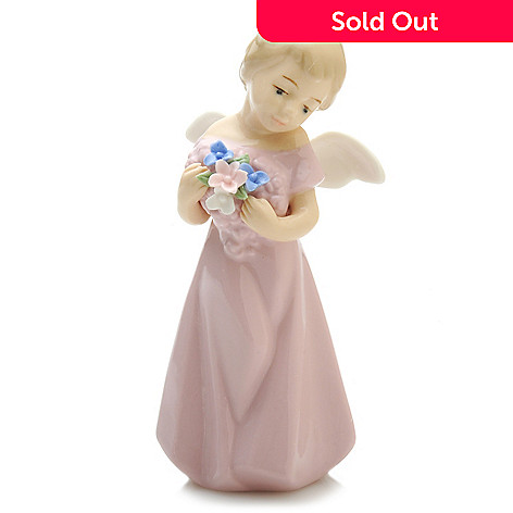 439-869 - Sorelle® Angel 5.25'' Porcelain Hand-Crafted Figurine