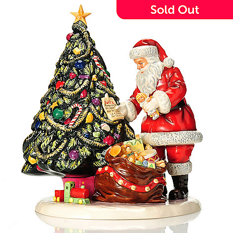 439-952 - Royal Doulton Letters to Santa 12'' Earthenware Figurine- Signed by Michael Doulton