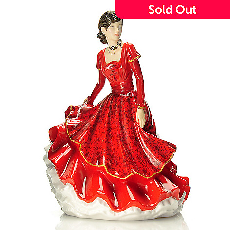 439-955 - Royal Doulton Songs of Christmas ''Joy to the World'' 6.75'' Bone China Figurine