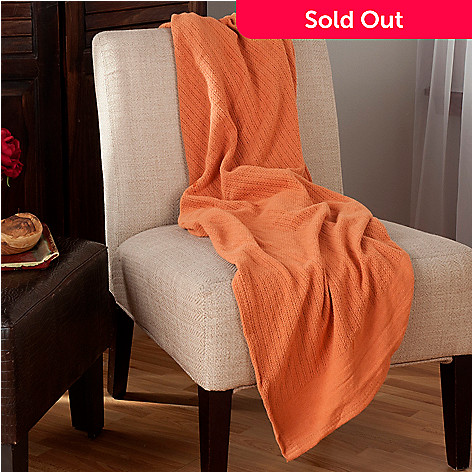 439-979 - Cozelle® 60'' x 50'' Cotton Woven Throw